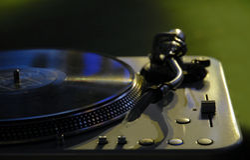 Recordplayer imagens de stock royalty free