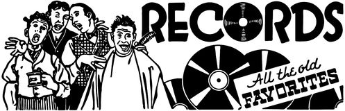 Records 3 Stock Photography