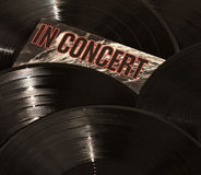 Records In Concert Royalty Free Stock Photography