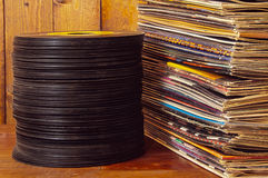 Records Royalty Free Stock Image