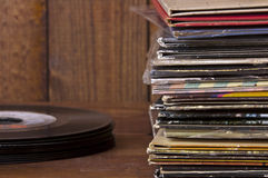 RecordStack Royalty Free Stock Image