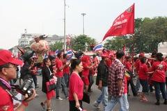 Recorre la protesta. Foto de archivo libre de regalías