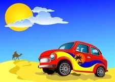 Recorrido de coche libre illustration