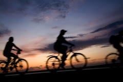 Recorrido de la bicicleta Foto de archivo libre de regalías