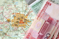 Recorrido de Pekín Imágenes de archivo libres de regalías