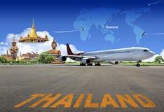 Recorrido de Tailandia imagenes de archivo