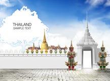 Recorrido de Tailandia Fotografía de archivo