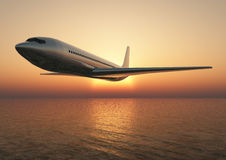 Recorrido del aeroplano Fotos de archivo libres de regalías