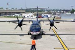 Recorrido del aeropuerto Foto de archivo