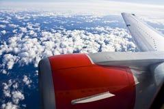 Recorrido del jet Imagenes de archivo