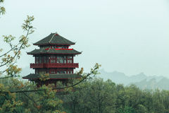 Recorrido en China Imagen de archivo libre de regalías