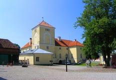 Recorrido Latvia: Castillo en Ventspils Foto de archivo