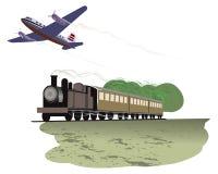 Recorrido por transporte Imagen de archivo libre de regalías