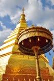 Recorrido a Wat Phra ese Cho Hae. Imagen de archivo