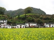 Recorridos de los hombres de Anhui Mt. Huangshan Qi el paisaje Imagenes de archivo