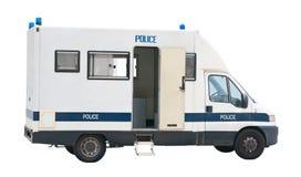 Recorte de la furgoneta de policía Foto de archivo libre de regalías