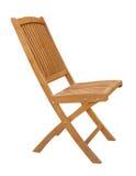 Recorte de madera de la silla Foto de archivo libre de regalías