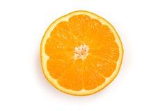 Recorte de una rebanada anaranjada fotografía de archivo