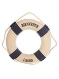 Recorte del anillo del flotador Fotografía de archivo libre de regalías