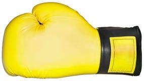 Recorte del guante de boxeo Fotografía de archivo libre de regalías