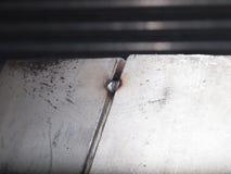 Recorte del laser del acero inoxidable Fotos de archivo