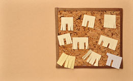 Recorte del papel de empapelar del anuncio Imagenes de archivo