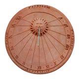 Recorte del reloj de sol Fotografía de archivo libre de regalías