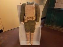 Recorte del soldado para las imágenes imagen de archivo