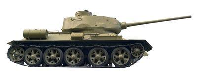 Recorte del tanque de batalla Fotografía de archivo