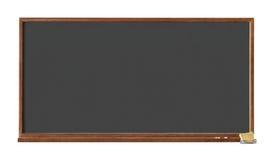 Recorte negro de la tarjeta de escuela Foto de archivo