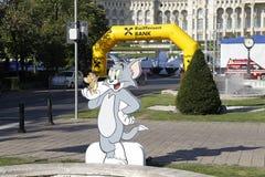 Recorte Tom y Jerry fotografía de archivo