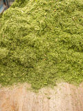 Recortes de la hierba Foto de archivo libre de regalías