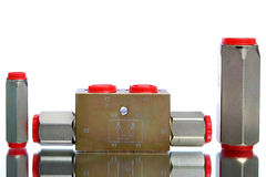 Recortes hidráulicos Fotos de archivo