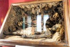 Recostruction della mummia fotografia stock