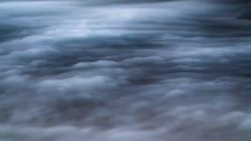 Recouvrement réaliste de brouillard de nuages de fumée de glace carbonique image stock