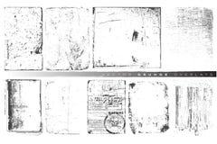 Recouvrements de grunge de vecteur Images libres de droits