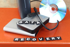 Recover data Stock Photography