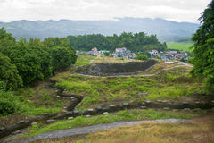 Recovered Frech trenches in Dien Bien Phu Stock Photography
