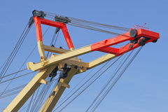 Recovery crane for ships Royalty Free Stock Photography