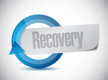 Recovery cycle illustration design Stock Photos