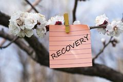 Free Recovery In Memo Stock Images - 114429964