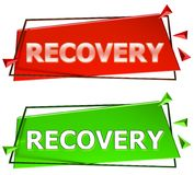 Recovery sign Royalty Free Stock Photos