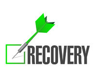 Recovery performance check dart Royalty Free Stock Photos