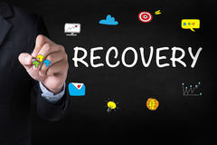 RECOVERY (Recovery Backup Restoration Data) Stock Images