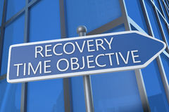 Recovery Time Objective Royalty Free Stock Image