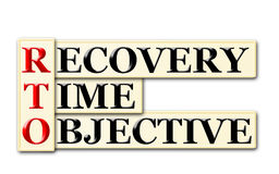 Recovery Time Objective Stock Image