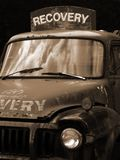 Recovery Truck. An old fashioned recovery vehicle Royalty Free Stock Images