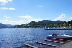 Recreação no lago Titisee Foto de Stock Royalty Free