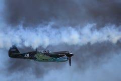 Recreatie van het LuchtGevecht van WO.II Stock Fotografie