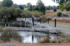 Recreatief gebied van Steengroevemeer, Fremont, Californië royalty-vrije stock foto's